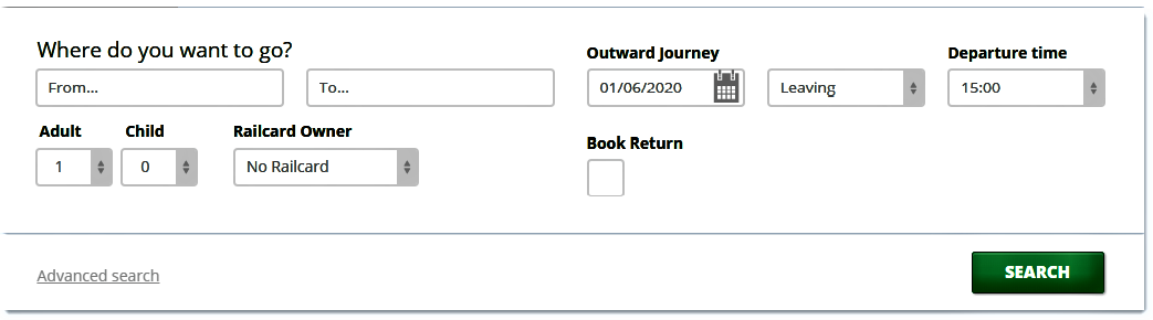 Split Train Ticket Journey Planner